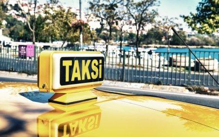 Taksi sign in Istanbul