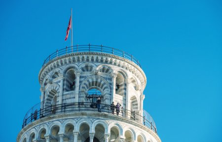 Detail of Leaning Tower in Square of Miracles