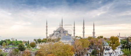 View of Blue Mosque area