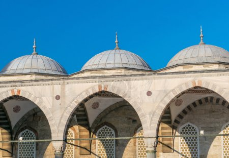 Domes of Blue Mosque, Istanbul