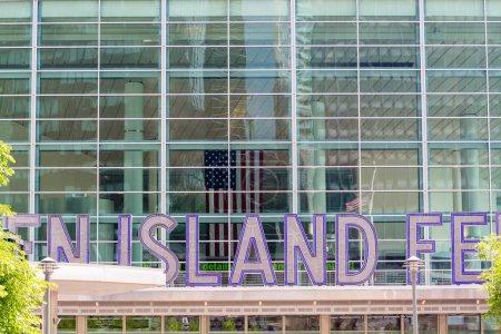 Staten Island Ferry Entrance Sign, New York