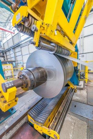 Steel coil cut