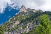 Stunning Alps summer panorama