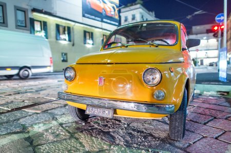 Old 500 Fiat car in