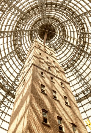 Tower in Melbourne Central