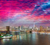 "Постер, картина, фотообои ""горизонт Нью-Йорка"""