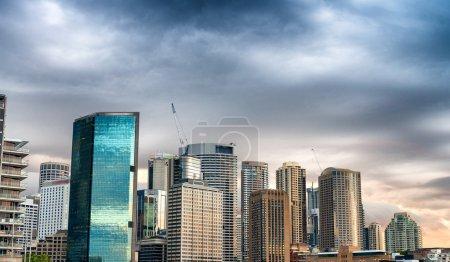 Photo for Buildings of Sydney. Wonderful city skyline. - Royalty Free Image