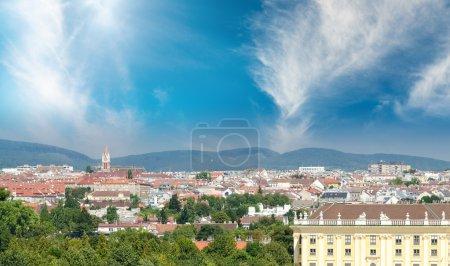 Vienna, Austria. Beautiful city skyline
