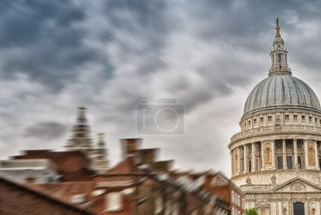 St Paul Cathedral dome, London