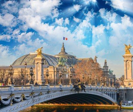 Paris buildings and landmarks