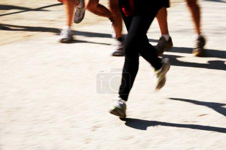 Runners Legs view