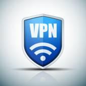VPN Safety Shield sign