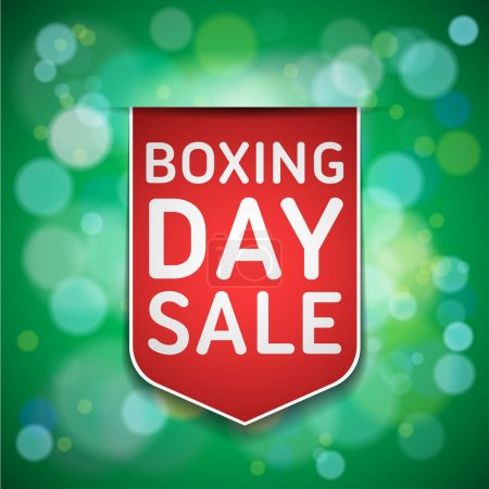 Boxing Day Sale tag