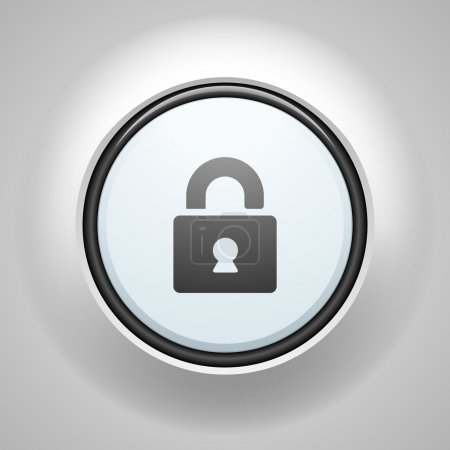 Secure lock button sign...
