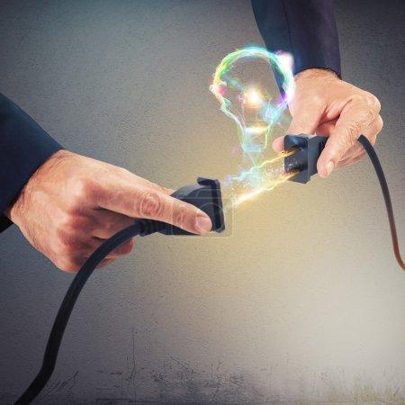 plugs form bulb