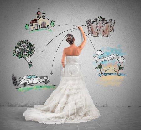 Woman arranges her marriage