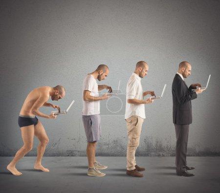 Successful man evolution