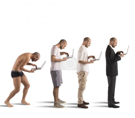 evolution of successful man