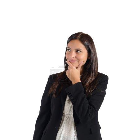 Businesswoman invents lie
