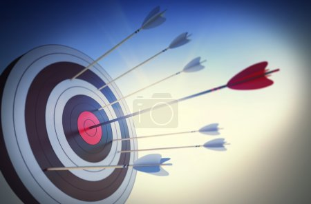 Target hit in the center