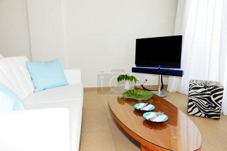 Photo for Interior of the luxury villa, Crete, Greece - Royalty Free Image