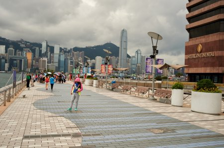 The Avenue of Stars in Hong Kong
