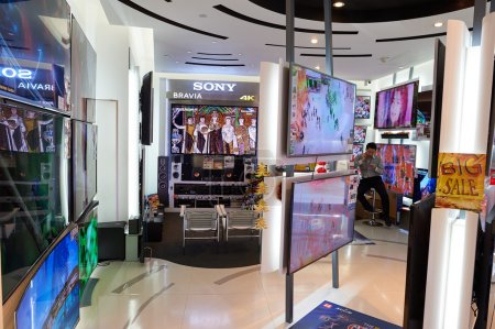Shopping mall in Hong Kong
