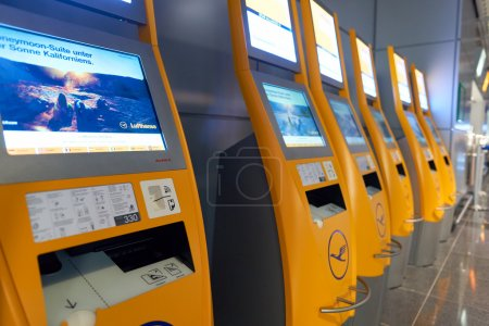 Inside of Frankfurt Airport