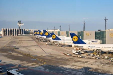 View of Frankfurt Airport