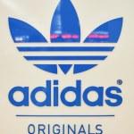 Постер, плакат: logo in Adidas store