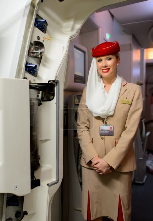 Emirates air hostess