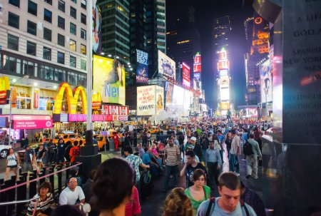 NEW YORK - SEPTEMBER 25, 2011: Times Square  Times...