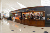 Paul cafe in the airport