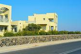 Real estate on Santorini island
