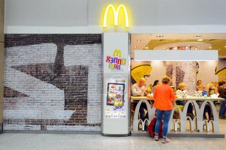 McDonalds restaurant interior