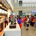 HONG KONG - SEPTEMBER 09, 2015: People in McDonald...