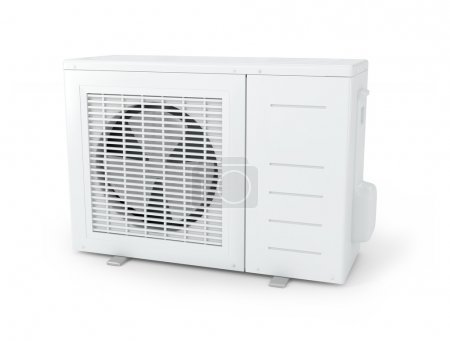 Conditioner air on a white background