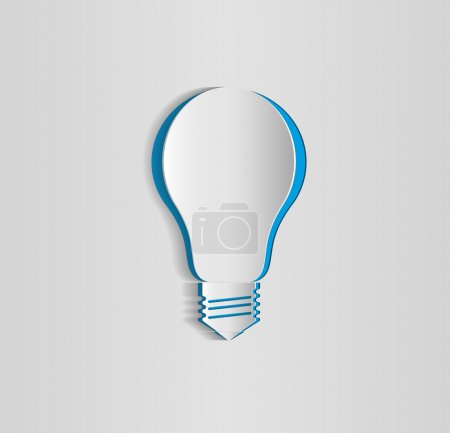 Innovation, bulb icon, vector design