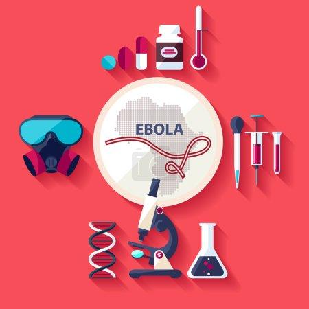 Virus Ebola.