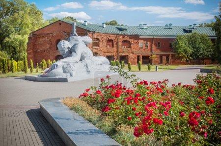 Photo pour Monument, forteresse de Brest, Biélorussie - image libre de droit