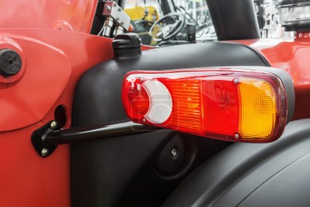 parking lights on tractor