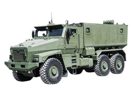 Armored Car enhanced security