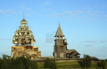 Old Russian wooden Church