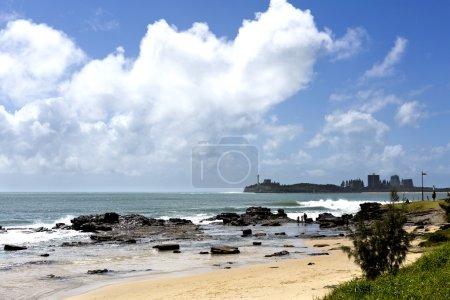 Mooloolaba Beach on a Sunny Day