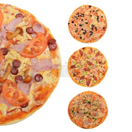 tasty mixed pizza