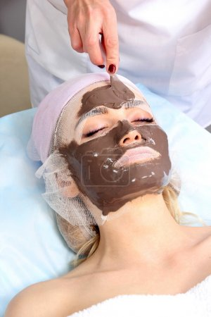 Spa therapy for young women.