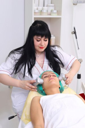 Procedure vibro-cell electrotherapy.