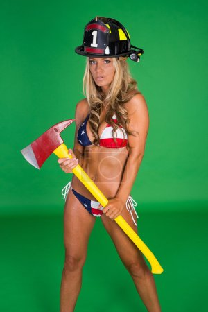 Sexy Female Firefighter