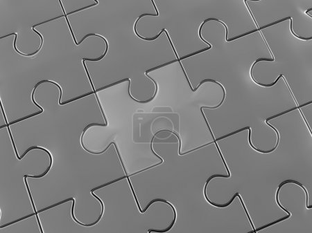 Photo for Puzzle. 3d - Royalty Free Image