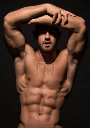 Good looking  male model